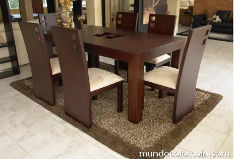 Fotos de comedores modernos en madera en medell n for Modelos de comedores de madera modernos