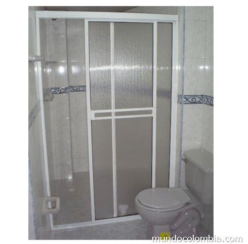 Fotos de cabinas para baño en vidrio templado y en ...